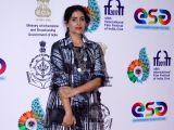 """Panaji :IFFI 2017  - Sonali Kulkarni - screening of film """"Kaccha Limbu"""