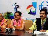 Panaji:  IFFI-2014 - press conference Sabyasachi, Atal Bhari Panda