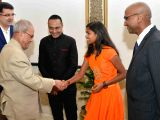 "Special screening of  ""Poorna"" for President Mukherjee"
