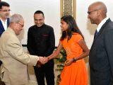 "Special screening of  ""Poorna"" for President Mukherjee"