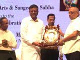 Principal Scientific Advisor to the Government of India Rajagopala Chidambaram during legendary dance guru T. K. Mahalingam Pillais birth centenary celebrations in Mumbai on Nov 2, 2017.
