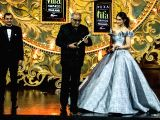 IIFA Awards 2018 - Boney Kapoor and Kriti Sanon