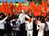 Rajput community's demonstration