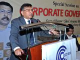 SEBI's Executive Director Ananta Barua addresses during a special session on 'Corporate Governance' in Kolkata on July 15, 2017.