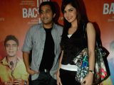 Shahzahn Padamsee and Omi Vaidya promote Dil Toh Baccha Hai at Andheri.