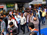 "Karni Sena demonstration against ""Padmaavat"