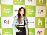Sonakshi Sinha, Kanika Kapoor at the launch of a fitness centre