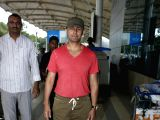 Aftab, Mishti, Sonu Nigam spotted at airport