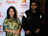 "Media interaction of show ""Dil Hai Hindustani 2"" - Sunidhi Chauhan and Badshah"