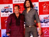 Sonu and Omi Vaidya at Star Plus Chote Ustad launch at Sea Princess.