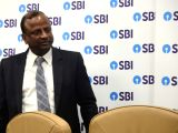 State Bank of India (SBI) Chairman Rajnish Kumar during the launch of Indias first integrated lifestyle and banking digital platform - You Only Need One (YONO) at SBIs Head Office in ...