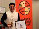 Stockholm (Sweden):  Omung Kumar at Stockholm International Film Festival Junior