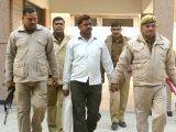 Surendra Koli who was sentenced to death along with businessman Moninder Singh Pandher by a CBI court in one of the Nithari serial rape-murder cases, in Ghaziabad on Dec 8, 2017. ...