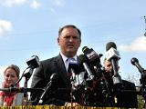 SUTHERLAND SPRINGS (U.S.), Nov. 7, 2017 Christopher Combs, FBI special agent in charge, speaks at a press conference in Sutherland Springs, Texas, the United States, on Nov. 7, 2017. The ...