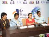 IFFI-2015 - Nitin Kakkar, Iram Ghuffran, B S Lingadevaru and Divya Duttta