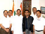 AR Rahman calls on Mahesh Sharma