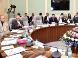 Union Finance Minister Arun Jaitley chairs the Pre-Budget Consultative Meeting with economists in connection with the forthcoming Union Budget 2018-19 in New Delhi on Dec 11, 2017. Also ...