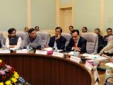 Union Finance Minister Arun Jaitley chairs the 6th meeting of Pre-Budget Consultations with stakeholders groups from IT Sector in connection with the forthcoming Union Budget 2018-19 in ...