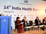 Union Health Minister J.P. Nadda addresses at the14th India Health Summit organised by Confederation of Indian Industry (CII) in New Delhi on Dec 14, 2017.