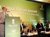"""Union Tourism Minister Alphons Kannanthanam addresses at the inauguration of Annual Tourism Summit on the theme """"International Year of Sustainable Tourism for Development"""" organised ..."""