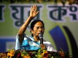 West Bengal Chief Minister and Trinamool Congress supremo Mamata Banerjee addresses during a party programme at Dumurjala in Howrah of West Bengal on Feb 2, 2018.