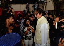 Amitabh Bachchan at Dharavi Band live performance