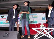 Arjun Kapoor during launch of Hero cycle (Batch-2)