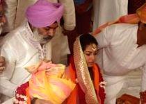 Shahid Kapoor and Mira Rajput at their wedding