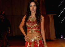 : (291114) Mumbai: Gauhar Khan performs during the singing competition India`s Raw Star