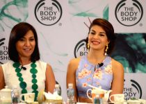 Jacqueline launches The Body Shop's new range of products