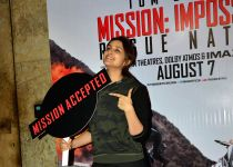 Screening of Hollywood film Mission: Impossible - Rogue Nation