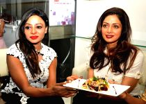 Bengaluru: Sridevi at the inauguration of a food lounge