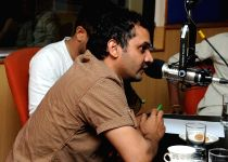 Dhanalakshmi Talupu Tadite movie team at Radio City