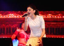 Guwahati: Kanika Kapoor performs during a programme