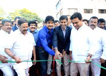 Hyderabad: Nagarjuna,KTR launches Shooting center & ANR Gardens at FNCC