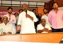 Hyderabad: Telangana Cinema Artist Association Cricket Team Press meet