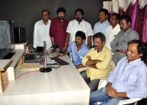 Hyderabad: 'Veta Kodavallu' - film songs recording