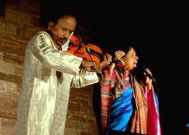 Jodhpur: Kavita Krishnamurthy performs at Mehrangarh Fort