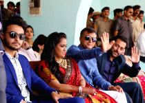 Mandi: Arpita and Aayush Sharma`s wedding reception