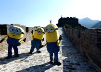 CHINA-BEIJING-GREAT WALL-MINIONS