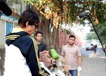Mumbai: Amitabh Bachchan participate in Clean India Campaign