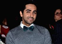Mumbai: Ayushman Khurana during the FEM press conference