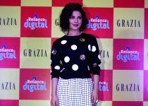 Mumbai: Priyanka Chopra during the launch of Grazia magazine