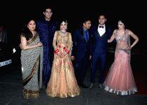 Mumbai: Wedding reception of Tulsi Kumar and Hitesh