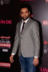 Actor Abhay Deol during the 20th Annual Life OK Screen Awards in Mumbai, on January 14, 2014.