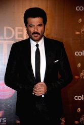 Actor Anil Kapoor during COLORS Golden Petal Awards 2013 in Mumbai on Dec.14, 2013.