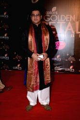 Actor Ayub Khan during COLORS Golden Petal Awards 2013 in Mumbai on Dec.14, 2013.