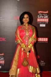 Actor Divya Dutta during the 20th Annual Life OK Screen Awards in Mumbai, on January 14, 2014.
