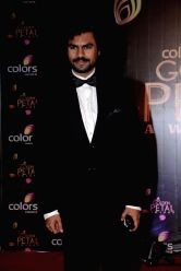 Actor Gaurav Chopra during COLORS Golden Petal Awards 2013 in Mumbai on Dec.14, 2013.