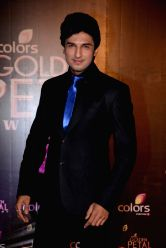 Actor Manish Raisinghani during COLORS Golden Petal Awards 2013 in Mumbai on Dec.14, 2013.